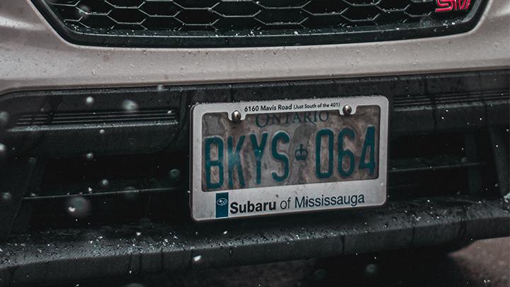 best license plate frame