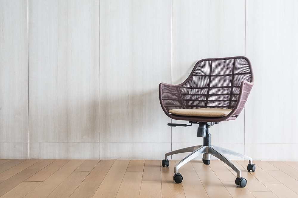 how to fix home office chair destroying the floors