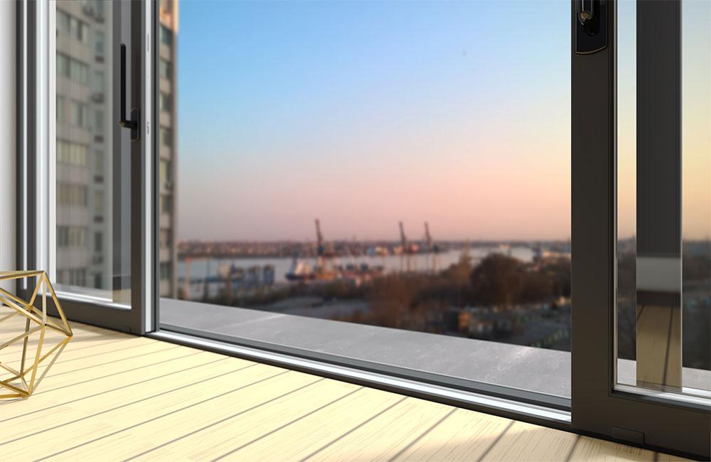 how to fix a sliding glass door