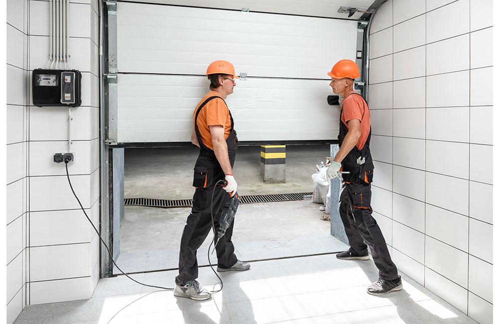 how to fix automatic garage door