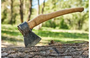 how to make a brush axe