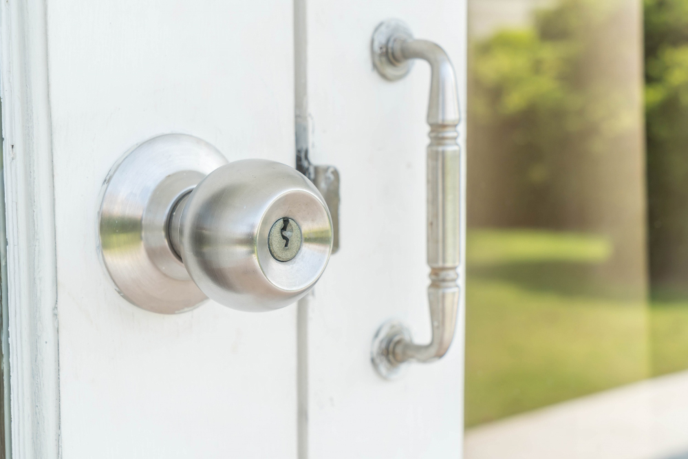 How to open a locked door with a screwdriver